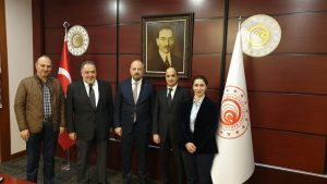 Our visit to Deputy Minister of Trade Mr. Rıza Tuna TURAGAY