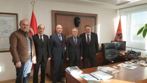 Our visit to the Head of the Traffic Safety Department Mr. Gençağa KARAKAŞ